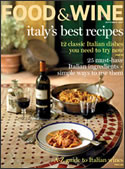 Food & Wine Magazine, Sept. 2007