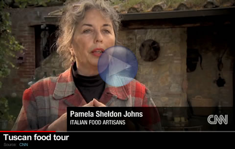 Pamela Sheldon Johns CNN Video : Food Artisans